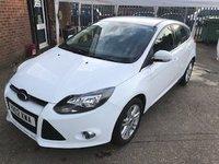 2012 FORD FOCUS 1.6 TITANIUM 5d AUTO 124 BHP £6499.00