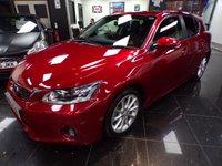 USED 2012 62 LEXUS CT 1.8 200H SE-L PREMIER 5d AUTO 136 BHP