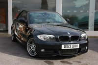 USED 2013 13 BMW 1 SERIES 2.0 118I SPORT PLUS EDITION 2d 141 BHP Navigation. Full Black Leather. Bluetooth. Full service history.