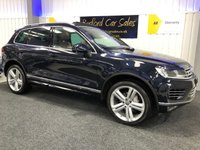 USED 2017 67 VOLKSWAGEN TOUAREG 3.0 V6 R-LINE PLUS TDI BLUEMOTION TECHNOLOGY 5d AUTO 259 BHP