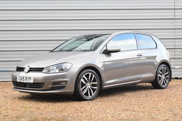 "USED 2015 15 VOLKSWAGEN GOLF 1.6 TDI BlueMotion Tech Match (s/s) 3dr 17""Madrids+ Sports Suspension"