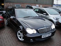 USED 2007 07 MERCEDES-BENZ C CLASS 1.8 C180 KOMPRESSOR AVANTGARDE SE 4d AUTO 141 BHP ANY PART EXCHANGE WELCOME, COUNTRY WIDE DELIVERY ARRANGED, HUGE SPEC