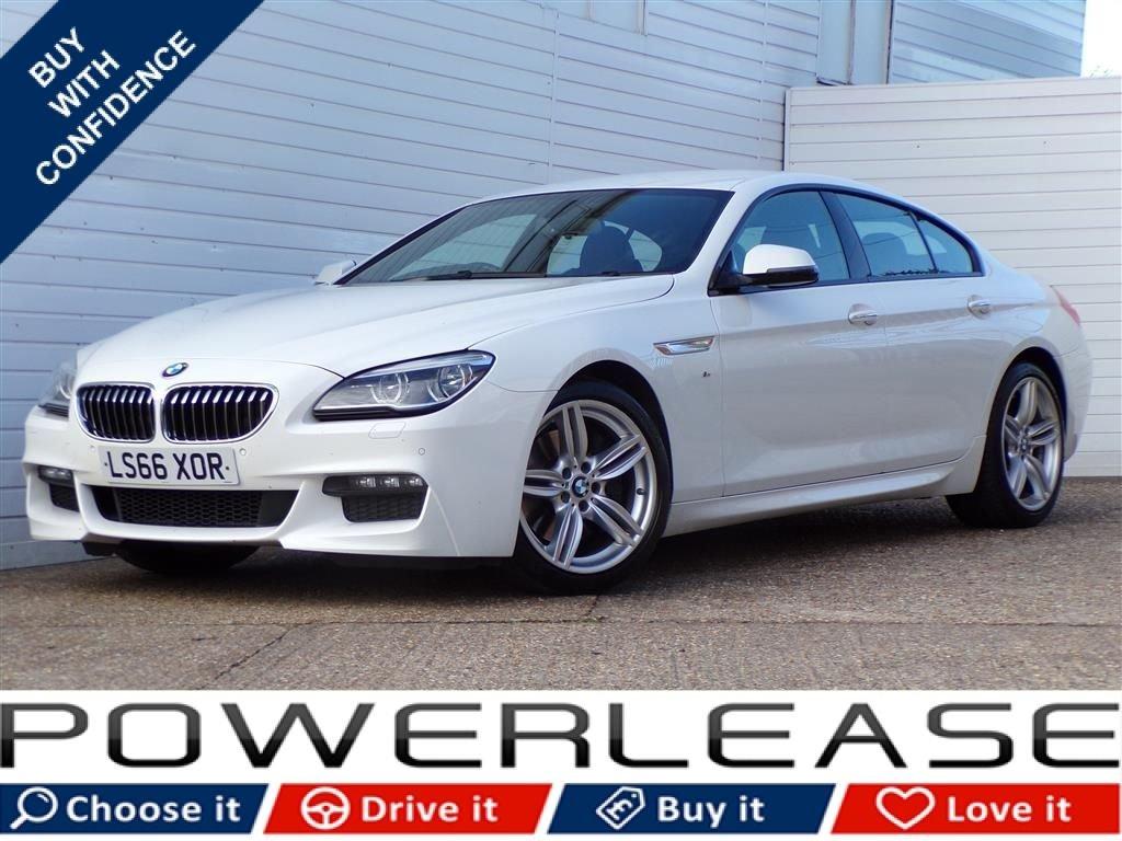 USED 2016 66 BMW 6 SERIES 3.0 640D M SPORT GRAN COUPE 4d AUTO 309 BHP PRONAV DAB REAR CAMERA FSH