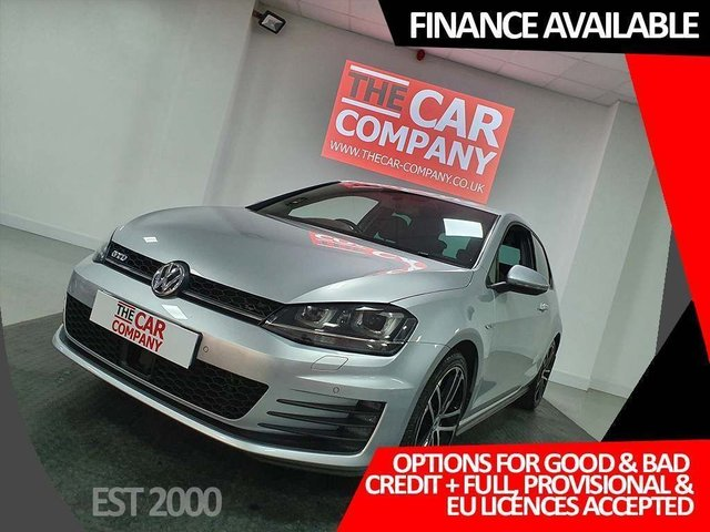 2015 15 VOLKSWAGEN GOLF 2.0 TDI BlueMotion Tech GTD 3dr
