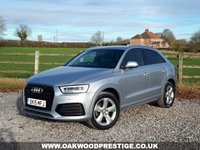 USED 2015 15 AUDI Q3 2.0 TDI QUATTRO S LINE 5d 182 BHP HIGHER POWER 184PS ENGINE WITH QUATTRO 4WD