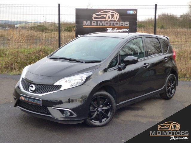 2017 NISSAN NOTE BLACK EDITION 1.2 5d 80 BHP