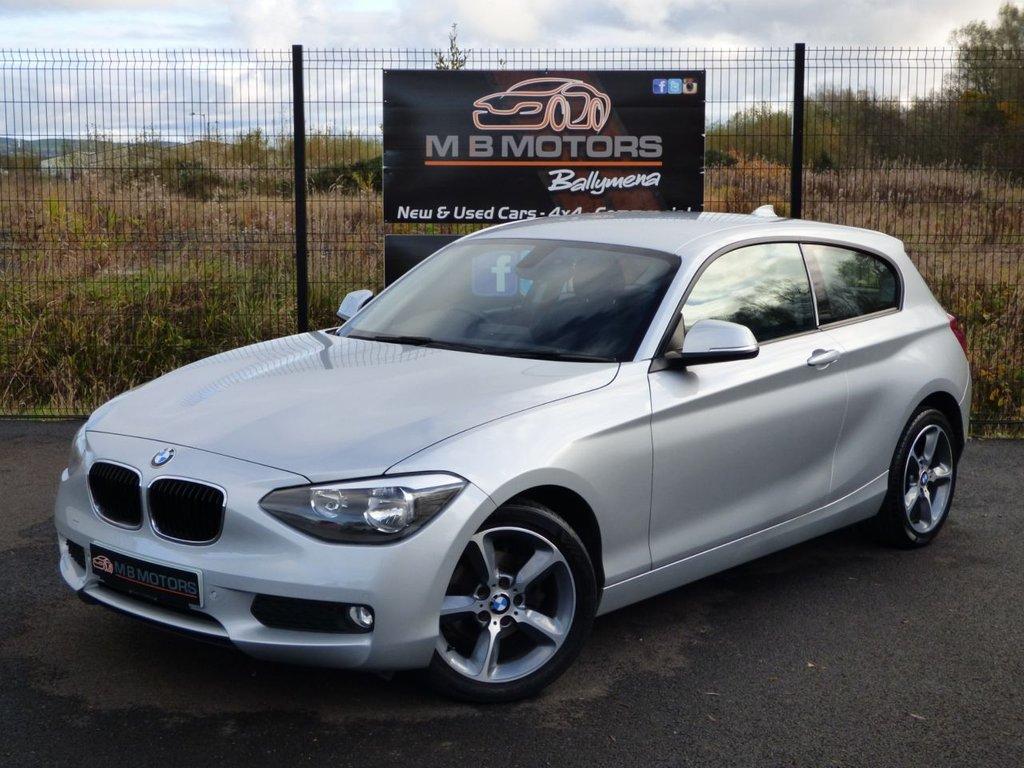 USED 2013 BMW 1 SERIES 118D SE 3d 141 BHP