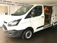 USED 2015 15 FORD TRANSIT CUSTOM 2.2 270 LR P/V 99 BHP