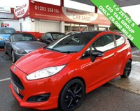 USED 2015 15 FORD FIESTA 1.0 ZETEC S RED EDITION 3d 139 BHP *ONLY 29,000 MILES*