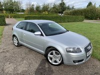 USED 2007 57 AUDI A3 2.0 TDI SPORT 3d 168 BHP Full Service History Cambelt Replaced  Fully Documented Audi And Specialist Service History, MOT 10/20, Recently Serviced, Cambelt Replaced, Bose Audio, Full Leather Upholstery, X2 Keys, Unmarked Alloys, Very Very Clean And Tidy Example, Auto Lights On, Auto Wipers, Remote Locking, Full Carpet Mat Set, Drives And Looks Absolutely Spot On, You Will Not Be Dissapointed!!