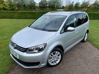 2010 VOLKSWAGEN TOURAN 1.6 S TDI BLUEMOTION TECHNOLOGY 5d 103 BHP Full VW History MINT Example  £7595.00