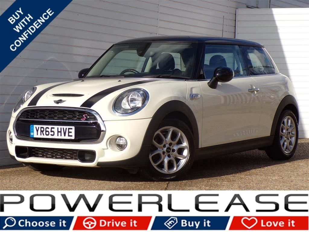 USED 2015 65 MINI HATCH COOPER 2.0 COOPER SD 3d 168 BHP PRO SAT NAV WIRED PACK XL PACK