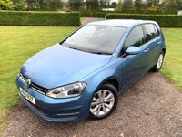 2013 VOLKSWAGEN GOLF 1.6 SE TDI BLUEMOTION TECHNOLOGY 5d 103 BHP Full VW History MINT Example  £7989.00