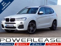 USED 2016 66 BMW X3 2.0 XDRIVE20D M SPORT 5d AUTO 188 BHP SAT NAV REVERSE CAMERA DAB