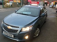 USED 2013 13 CHEVROLET CRUZE 1.7 LTZ VCDI    ESTATE **   SATNAV  **    Very High spec !!