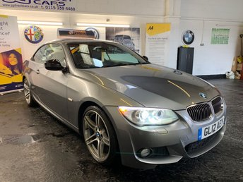 2012 BMW 3 SERIES 2.0 320I SPORT PLUS EDITION 2d AUTO 168 BHP CONVERTIBLE £10990.00
