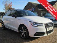 USED 2013 13 AUDI A1 1.4 SPORTBACK TFSI AMPLIFIED EDITION 5d 121 BHP RARE AMPLIFIED EDITION