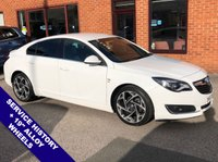 "USED 2016 66 VAUXHALL INSIGNIA 2.0 SRI NAV VX-LINE CDTI ECOFLEX S/S 5DOOR 167 BHP DAB Radio   :   Satellite Navigation   :   USB & AUX   :   Cruise Control / Speed Limiter      Phone Bluetooth Connectivity   :   19"" Alloy Wheels   :   Service History"