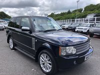 USED 2007 07 LAND ROVER RANGE ROVER 3.6 TDV8 VOGUE 5d AUTO 272 BHP Midnight Blue Black, just had major service high specificaiton