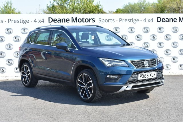 2016 66 SEAT ATECA 2.0 TDI 4DRIVE XCELLENCE 5d 148 BHP BIG SPECIFICATION