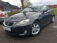 USED 2007 07 LEXUS IS 2.5 250 4d 204 BHP ALLOYS+CLIMATE+CLEAN CAR+ELEC+CRUISE+PAS+NEW BATTERY+MOT 07/20+