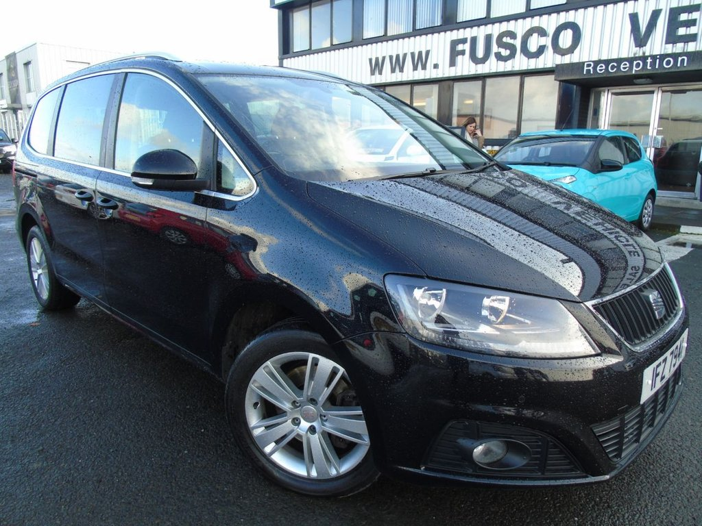 USED 2012 SEAT ALHAMBRA 2.0 CR TDI ECOMOTIVE SE 5d 140 BHP £189 a month, T&C'S apply.