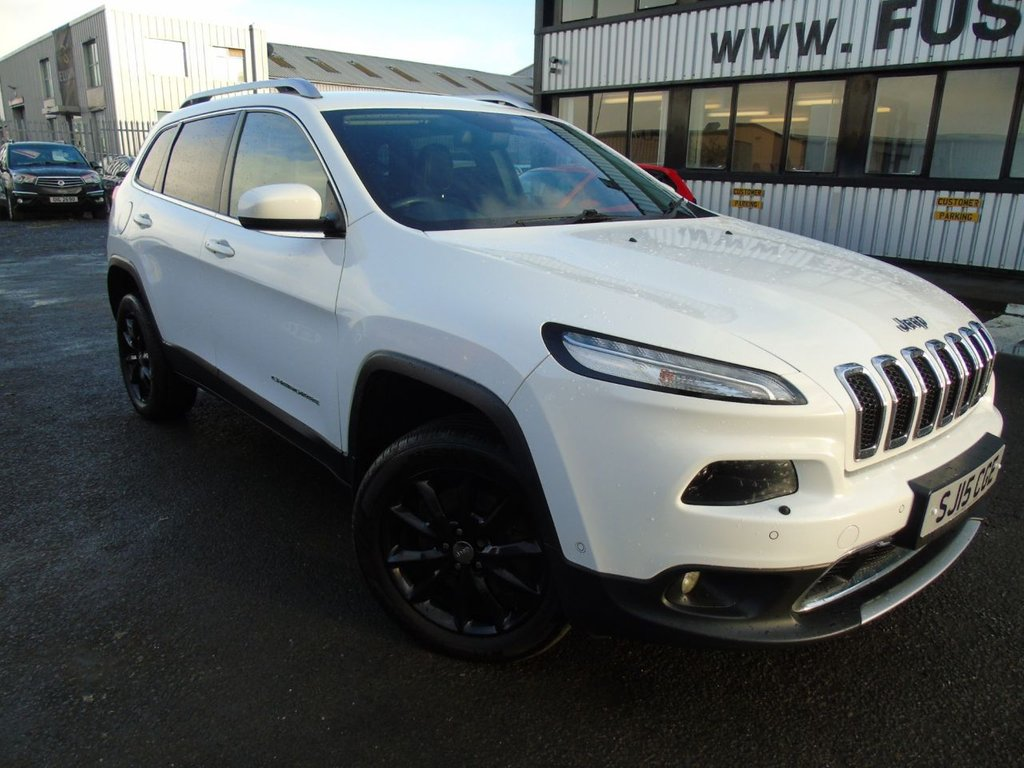 USED 2015 15 JEEP CHEROKEE 2.0 M-JET LIMITED 5d AUTO 168 BHP £234 a month T&C'S apply.