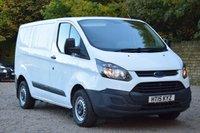2015 FORD TRANSIT CUSTOM 2.2 270 LR P/V 99 BHP £7950.00