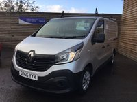 USED 2016 66 RENAULT TRAFIC 1.6 SL27 BUSINESS DCI S/R P/V 115 BHP
