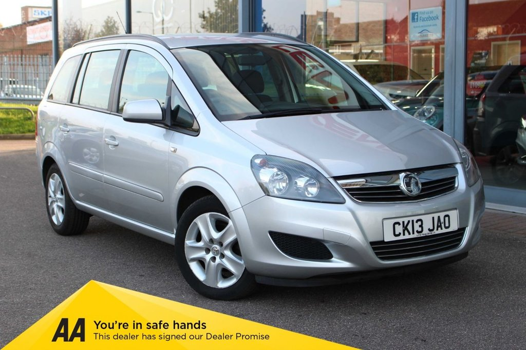 USED 2013 13 VAUXHALL ZAFIRA 1.6 EXCLUSIV 5d 113 BHP - *** GREAT FAMILY CAR ***