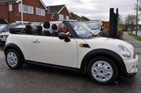 USED 2014 14 MINI CONVERTIBLE 1.6 ONE 2d AUTO 98 BHP