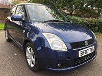 USED 2007 07 SUZUKI SWIFT 1.5 GLX VVTS 5d 101 BHP