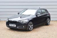 USED 2014 14 BMW 1 SERIES 1.6 116i Sport Sports Hatch 5dr Petrol Manual (s/s) (131 g/km, 136 bhp) Only 38,000miles