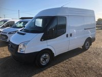 USED 2013 13 FORD TRANSIT 2.2 280 99 BHP AIR/CON * ONE OWNER  * FULL HISTORY * QUALITY RACKING