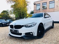 USED 2017 17 BMW 4 SERIES 3.0 430D XDRIVE M SPORT GRAN COUPE 4d 255 BHP