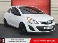 USED 2014 14 VAUXHALL CORSA 1.2 STING 3d 83 BHP LOW MILEAGE