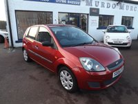 USED 2006 06 FORD FIESTA 1.4 STYLE 16V 5d 80 BHP