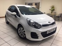 USED 2016 65 KIA RIO 1.2 SR7 3d 83 BHP ONE OWNER / SERVICE HISTORY / MULTIPLE AIRBAGS / ISOFIX / AIR CONDITIONING / PHONE CONNECTIVITY