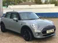 USED 2015 65 MINI HATCH COOPER 1.5 Cooper D (s/s) 5dr Heated Cream Leather +Chili