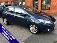 """USED 2015 65 VAUXHALL CORSA 1.4 SE 5DOOR AUTO 89 BHP DAB Radio     :     USB & AUX Sockets     :     Cruise Control / Speed Limiter           Phone Bluetooth Connectivity      :      Heated Front Seats      :      Heated Steering Wheel      Front & Rear Parking Sensors   :   16"""" Alloy Wheels   :   Service History"""