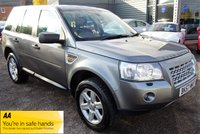 USED 2007 57 LAND ROVER FREELANDER 2.2 TD4 GS 5d 159 BHP GREAT SERVICE HISTORY 2 PREVIOUS KEEPERS JAN 2020 MOT