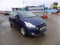 USED 2013 62 PEUGEOT 208 1.2 ACTIVE 3d 82 BHP