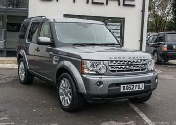 2012 LAND ROVER DISCOVERY 3.0 4 SDV6 XS 5d AUTO 255 BHP £16990.00