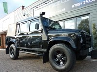 2010 LAND ROVER DEFENDER 2.4 110 XS DOUBLE CAB 4dr 122 BHP