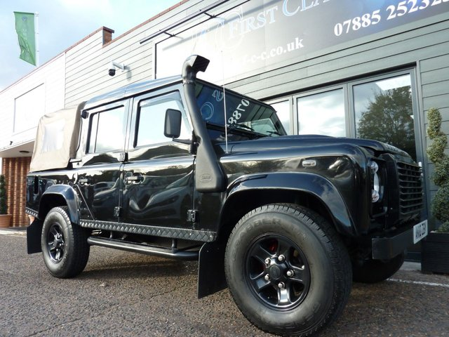 2010 10 LAND ROVER DEFENDER 2.4 110 XS DOUBLE CAB 4dr 122 BHP
