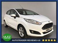 USED 2017 66 FORD FIESTA 1.0 ZETEC 5d 99 BHP FULL HISTORY - 1 OWNER - AIR CON - BLUETOOTH - DAB RADIO - CRUISE - PRIVACY - CD PLAYER - USB