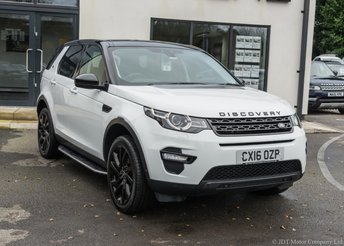 2016 LAND ROVER DISCOVERY SPORT 2.0 TD4 HSE LUXURY 5d AUTO 180 BHP £25990.00