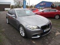 2011 BMW 5 SERIES 3.0 530D SE 4d 242 BHP £11000.00