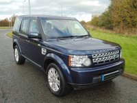 2013 LAND ROVER DISCOVERY 3.0 4 SDV6 GS 5d AUTO 255 BHP £11990.00