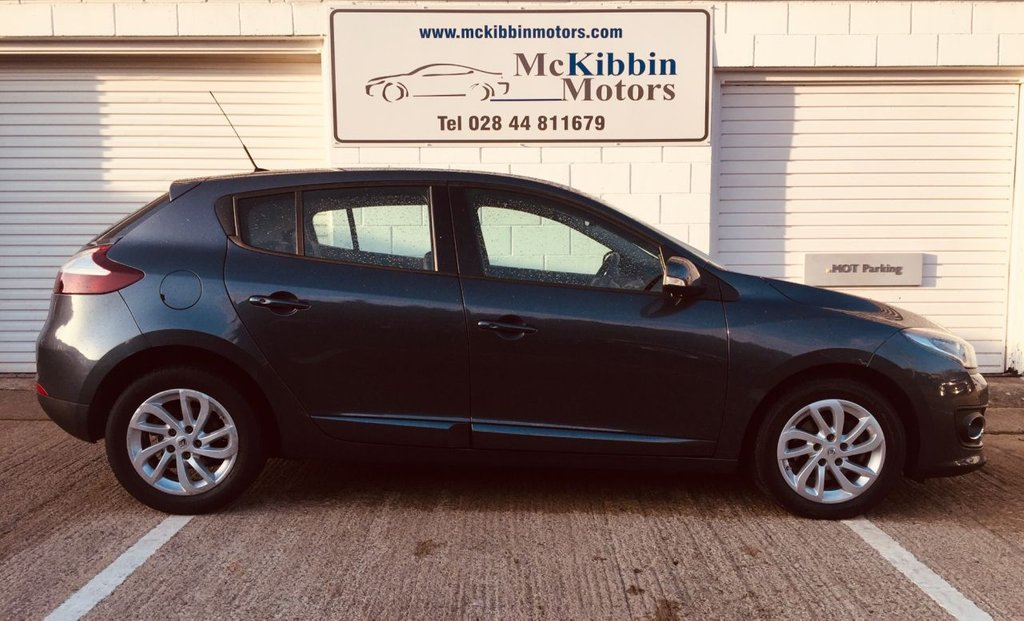 USED 2015 RENAULT MEGANE 1.5 DCI DYNAMIQUE TOMTOM S/S